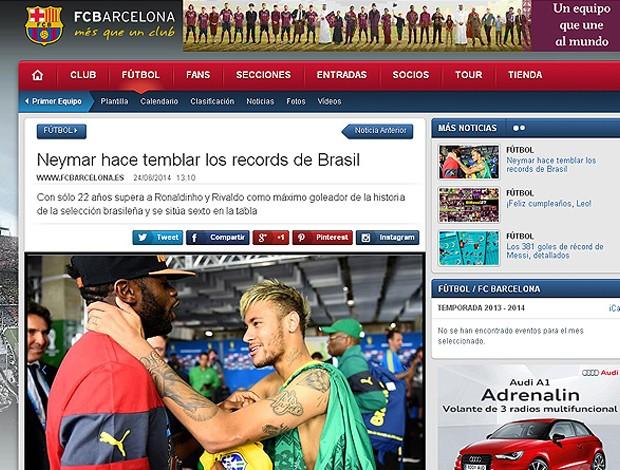 neymar site barcelona