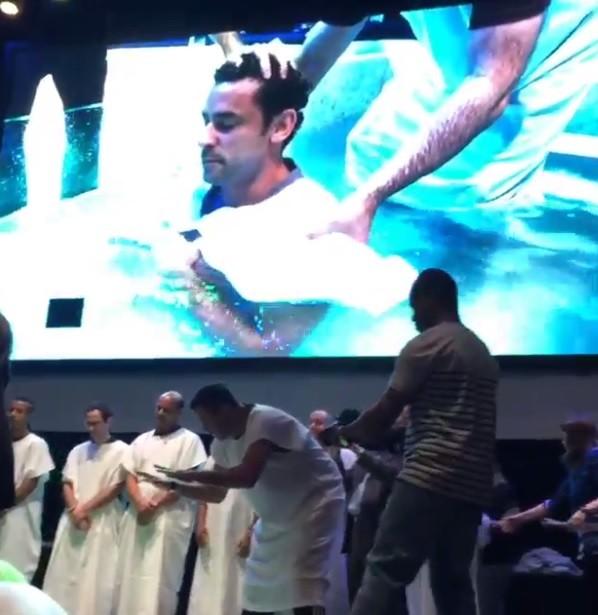 Fred batizado