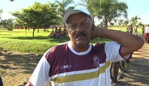 José Carlos Serrão, técnico do Sertãozinho (Foto: Reprodução/EPTV)