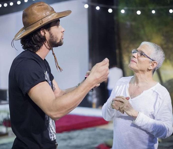 Pablo Morais se preparou para 'Velho Chico' ao lado de Antônio Nóbrega (Foto: Caiuá Franco/ Globo)