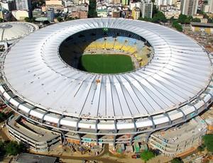 Maracanã obras cobertura Copa 2014 (Foto: Genílson Araújo / Agência O Globo)
