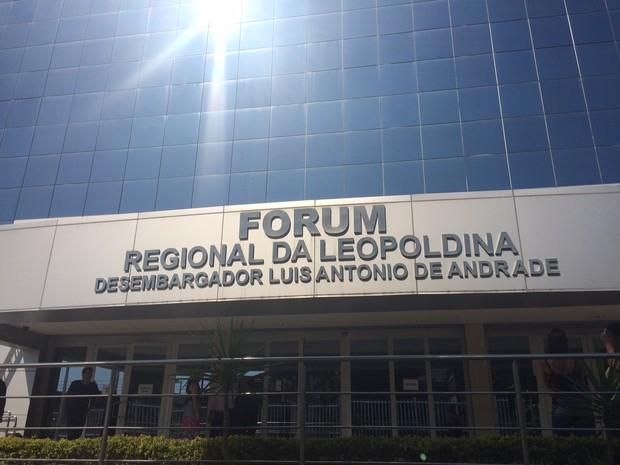 Apenas o menor será ouvido na primeira audiência (Foto: Gabriel Barreira/ TV Globo)