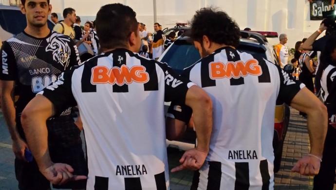 Camisa Atlético-MG Anelka (Foto: Fernando Martins)