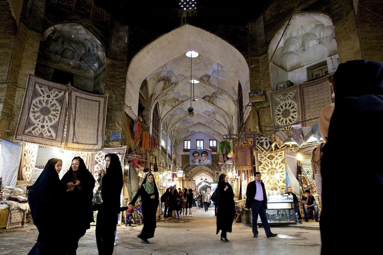 O Grande Bazaar de Isfahan (FOTO: REPRODUÇÃO)