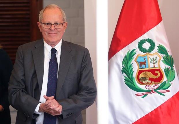 Economista Pedro Pablo Kuczynski é eleito presidente do Peru (Foto: Ernesto Arias/EFE)