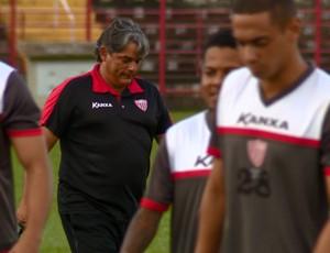 Marcelo Veiga técnico Mogi Mirim (Foto: Márcio de Campos / EPTV)