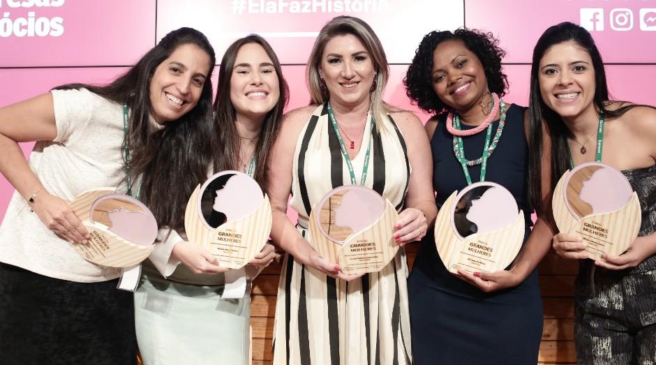 As vencedoras do Prêmio Grandes Mulheres 2017 (Foto: Keiny Andrade)
