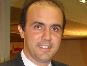 Luciano Chequini, técnico (Foto: Reprodução/Twitter)
