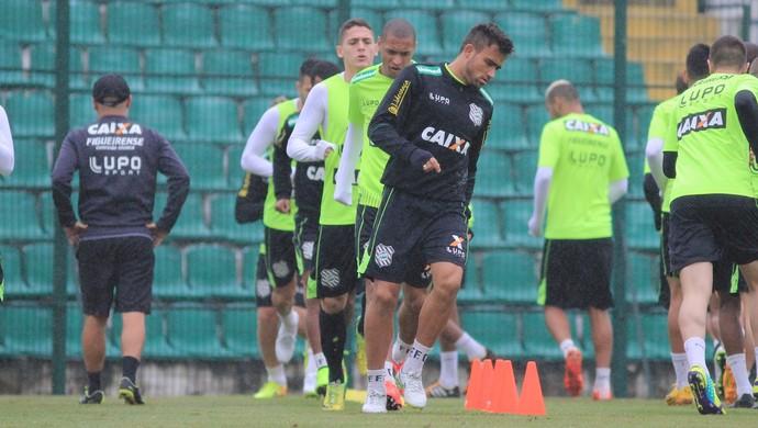 figueirense treino orlando scarpelli fechado (Foto: Luiz Henrique / FFC)