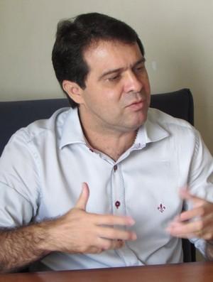 Evandro Leitão, Ceará, centenário, presidente, alvinegro, entrevista (Foto: Juscelino Filho)
