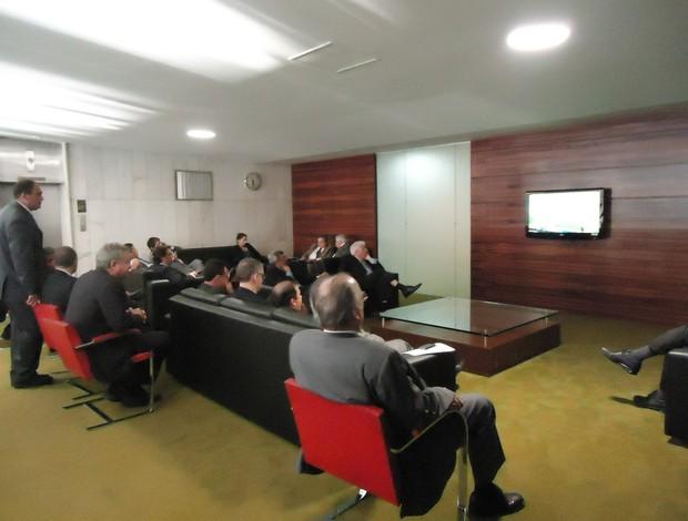 Deputados Milan x Barcelona (Foto: Marcelo Parreira/GLOBOESPORTE.COM)