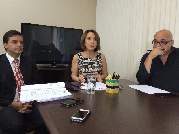 Raquel Teixeira, secretária de educação, cultura e esporte de Goiás (Foto: Paula Resende/G1)