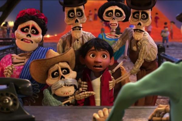 Uma cena do trailer de Coco, próxima animação da Pixar (Foto: Reprodução)