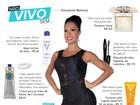 Gracyanne Barbosa revela seus dez produtos de beleza favoritos