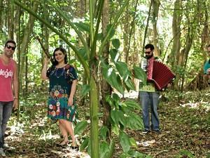 Grupo Corrupio fará espetáculo de música para crianças no Palacete das Artes, em Salvador. (Foto: Divulgação)