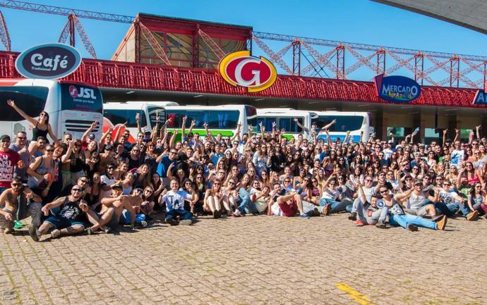 Cerca de 800 pessoas se reuniram para curtir o João Rock em 2014 (Foto: Hélio Graça)