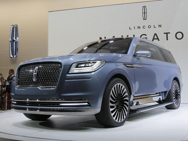 Lincoln Navigator Concept (Foto: Eduardo Munoz / Reuters)