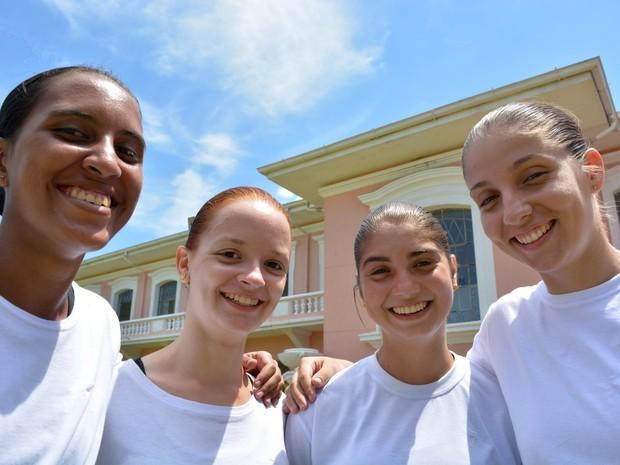 Mulheres realizam sonho e conseguem vaga na Escola de Cadetes do Exército, em Campinas (Foto: Patrícia Teixeira / G1)