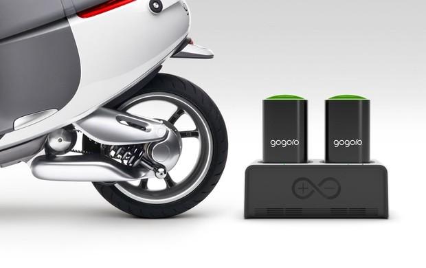 gogoro moto eletrica