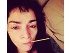 Claudia Ohana cancela peça: 'A dengue me pegou'