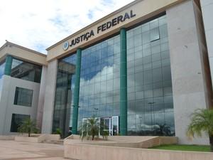 Justiça Federal no Amapá (Foto: Abinoan Santiago/G1)