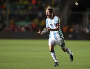 Messi gol Argentina Colômbia