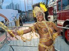 Sem Gracyanne Barbosa, X-9 vence o grupo de acesso do Carnaval de SP