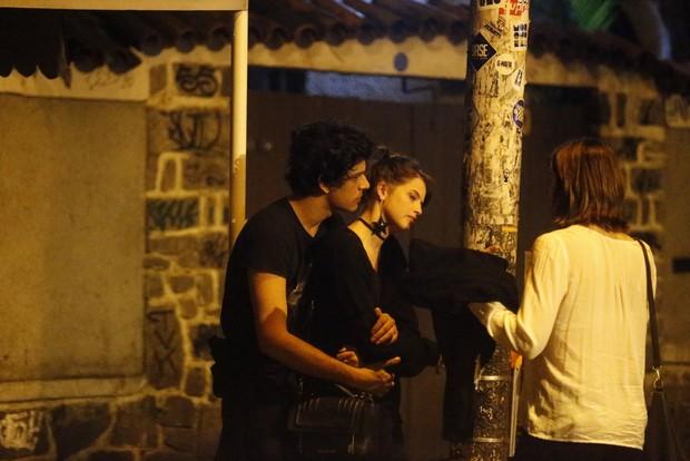 Agatha Moreira e vista com novo Affair aos Beijos  (Foto: Francisco Silva - Agnews)