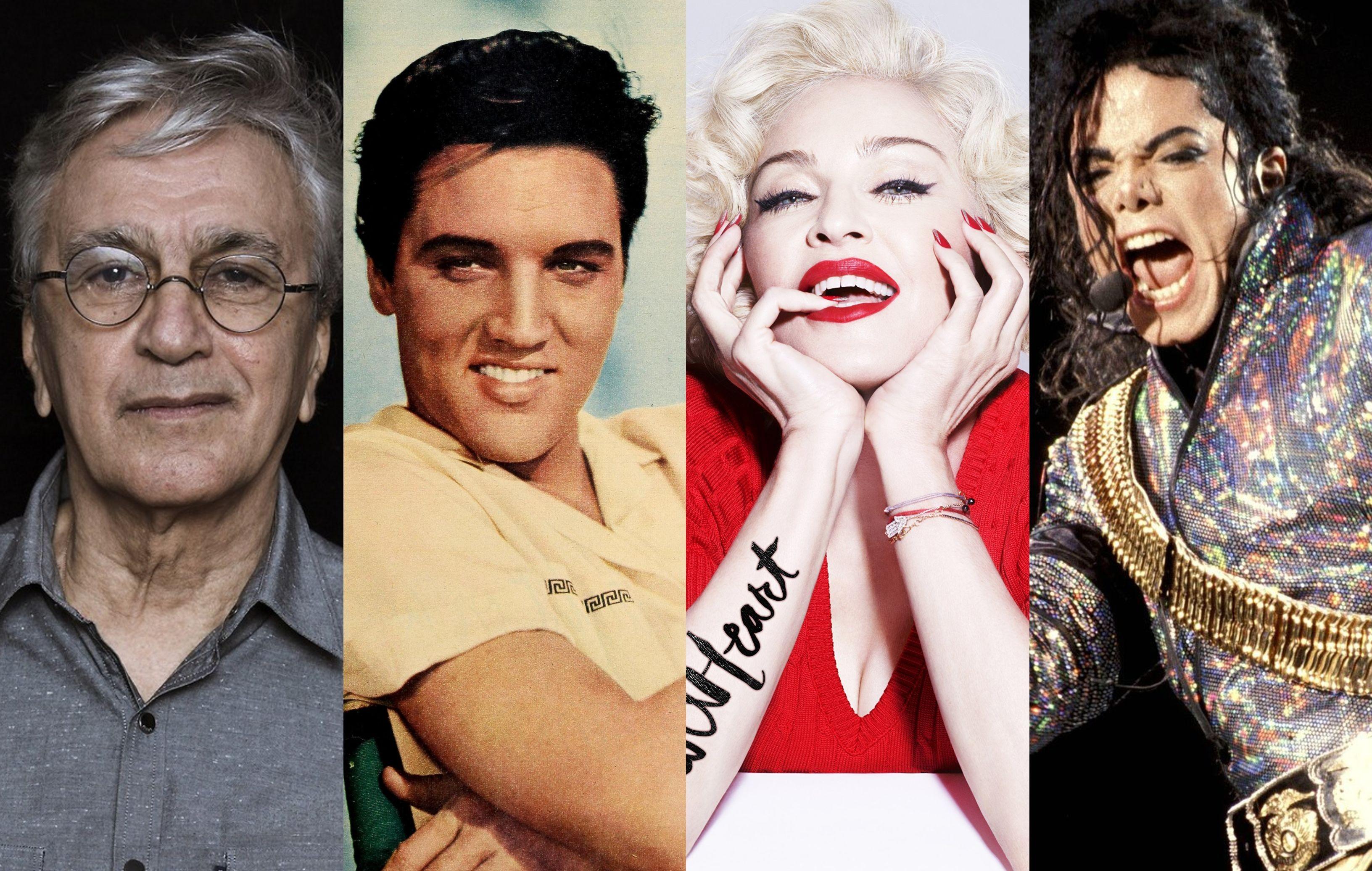Agosto no BIS tem shows de Caetano, Elvis, Michael, Madonna e muito mais (Foto: Divulgao)