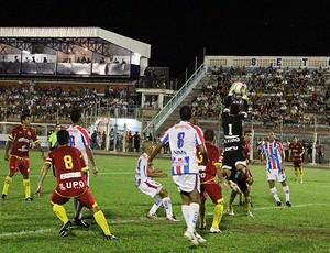 Penapolense x Atlético Sorocaba (Foto: Silas Reche/Penapolense)