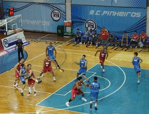 Pinheiros x LSB Liga Sorocabana - Paulista de basquete (Foto: Eric Mantuan/LSB)