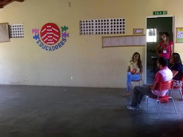 Escola Municipal São Sebastião Lagoa de Velhos (Foto: Erta Souza)