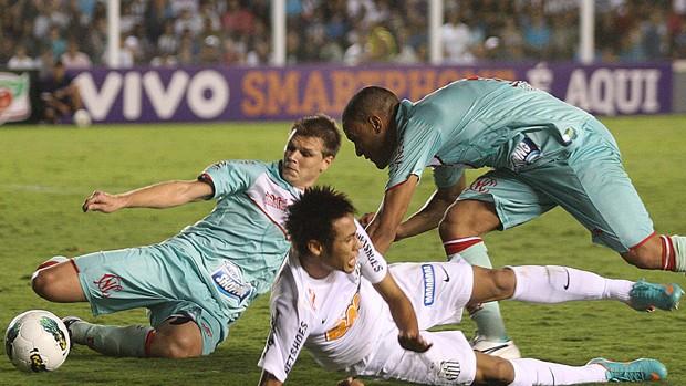 Neymar Santos x Náutico (Foto: Lucas Baptista / Futura Press)