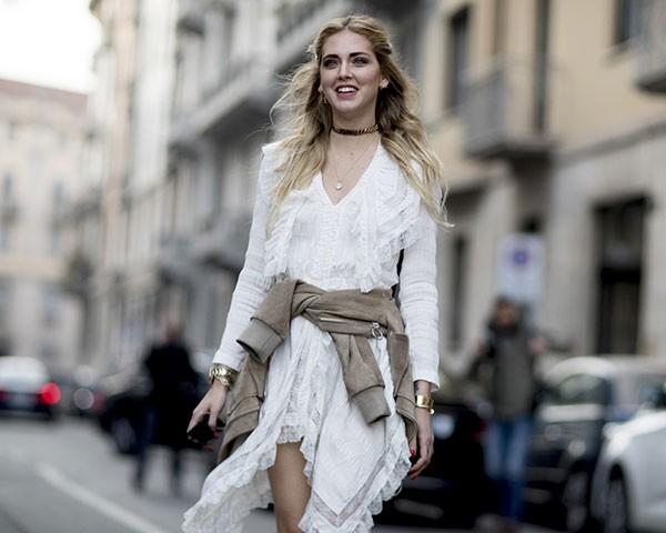 Inspira-se na moda de rua para criar looks meia estação (Foto: Imaxtree)