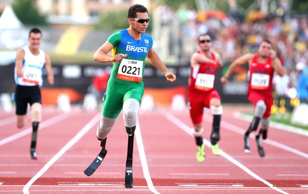 Alan Fonteles Mundial de Atletismo de Lyon (Foto: Getty Images)