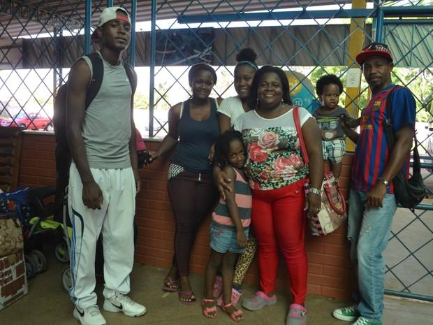 Família colombiana, assalto, Boa Vista, Roraima, Macapá, Oiapoque, Amapá (Foto: Jorge Abreu/G1)