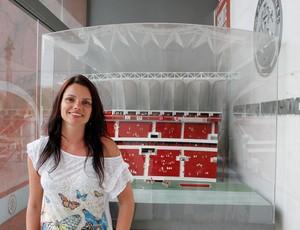 Diana Oliveira, vice presidente do Inter (Foto: Diego Guichard / GLOBOESPORTE.COM)