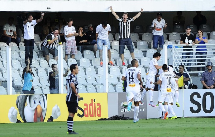 Santos x Corinthians (Foto: Marcos Ribolli)