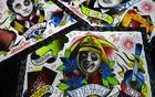 Artista plástico expõe homenagem em Portugal (Leandro Larangeiras / Divulgação)