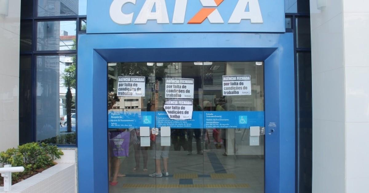Agência bancária em Santos, SP, fecha por falta de ar-condicionado - Globo.com