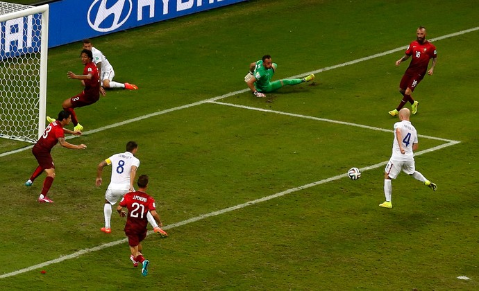 Bradley EUA x Portugal (Foto: Reuters)