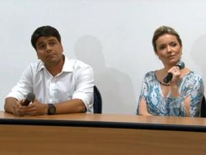 Pedro Paulo teixeira e a ex-mulher, a turismóloga Alexandra Mendes Marcondes. (Foto: Reprodução/ Globo)