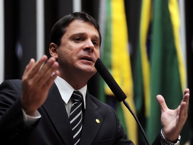 Reguffe em discurso na Câmara dos Deputados (Foto: Leonardo Prado/Câmara dos Deputados)