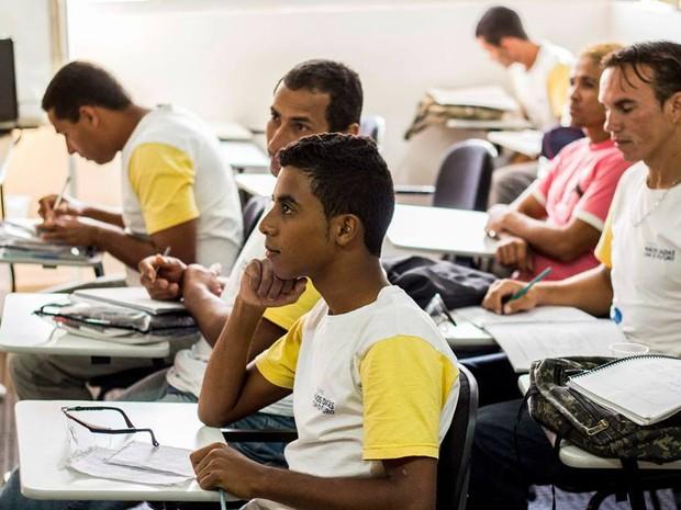 Evasão nos cursos profissionalizantes em Pitimbu e Alhanda, na Paraíba, só tiveram 3% de evasão (Foto: +Consultoria Social/Arquivo)