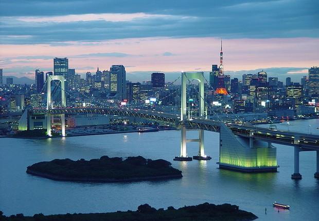 Tóquio, Japão (Foto: Wikimedia Commons)
