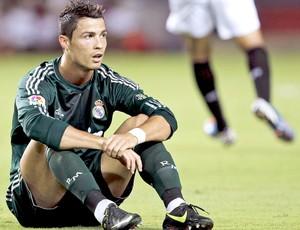 Cristiano Ronaldo, Sevilla e Real Madrid (Foto: Agência EFE)