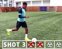 """Dele Alli tenta recriar gol de """"sambadinha"""" de Ronaldinho; será que conseguiu?"""
