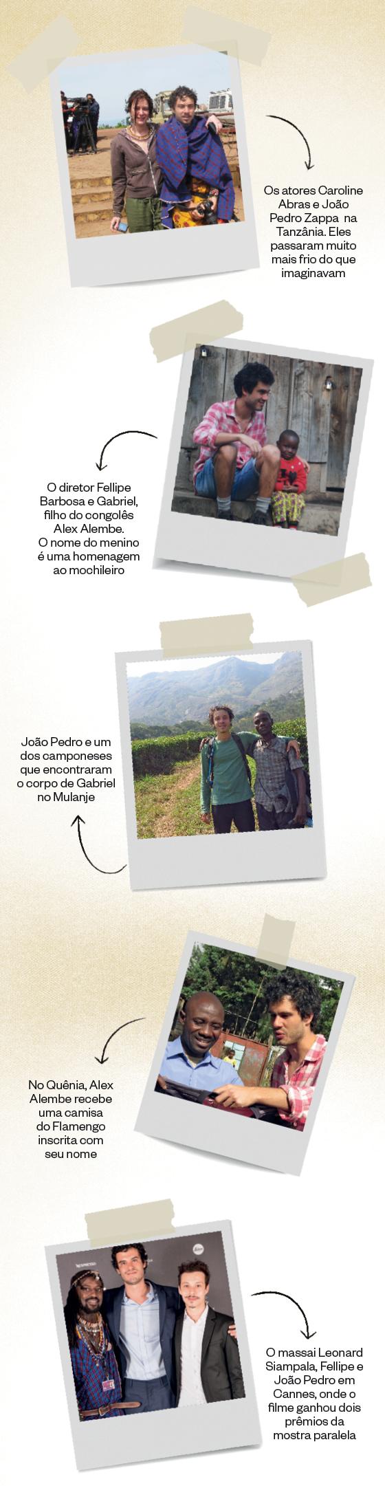 Fotos - Gabriel e a Montanha (Foto: Reprodução)