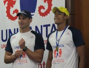 Nicholas Santos e Matheus Santana (Foto: João Paulo de Castro)