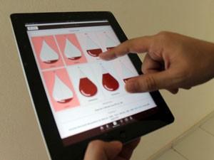 Aplicativo para doadores será lançado em Natal (Foto: Karla Larissa/G1)
